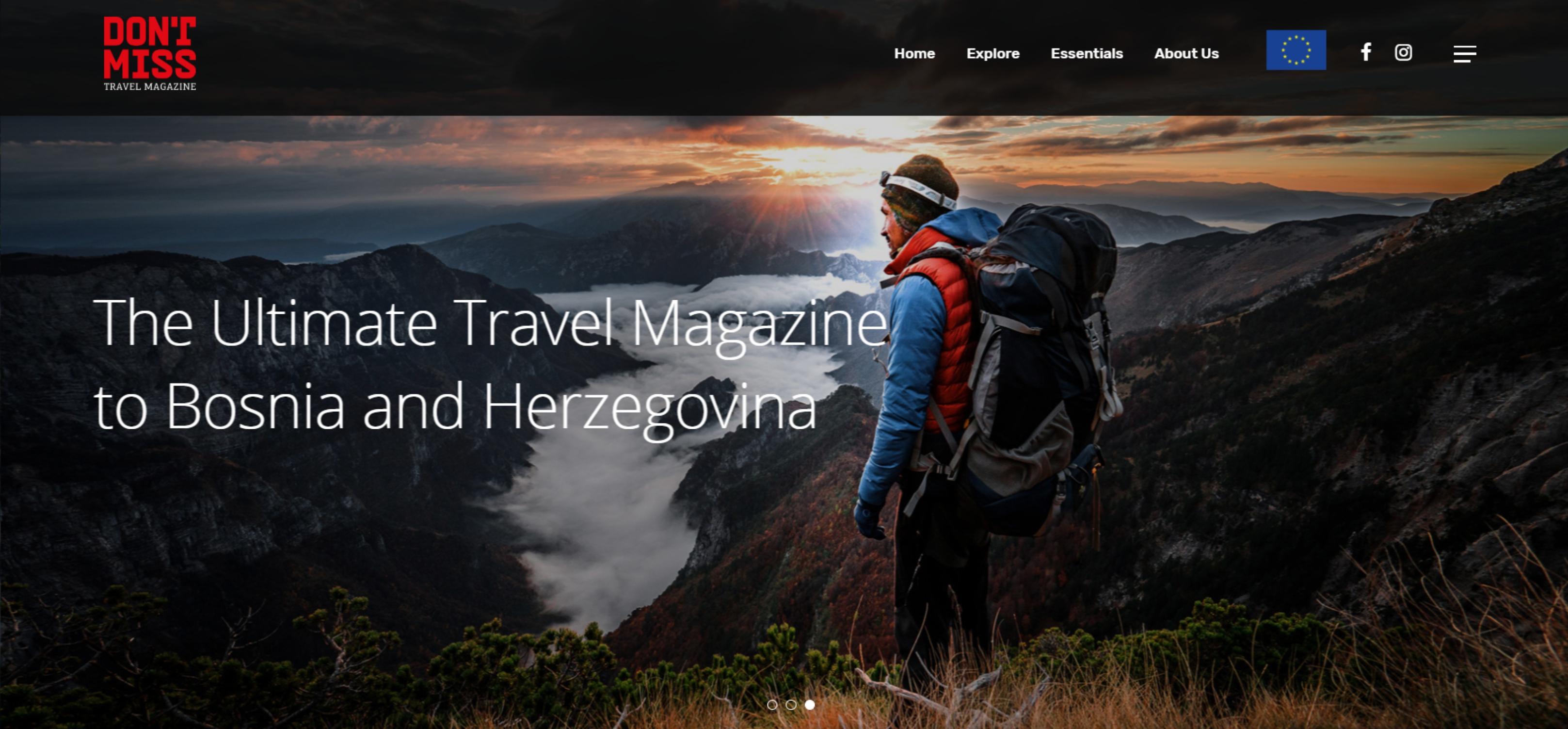 Don't Miss Travel Magazine: Interview with Bojan Bajić, WEFEC president